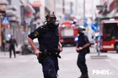 حمله تروریستی با کامیون در سوئد