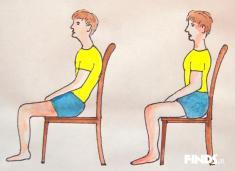 شناخت شخصیت آدمها با طرز نشستن شان + شیوه ی صحیح نشستن ایستادن و درست خوابیدن