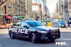 خودروی پرسرعت پلیس آمریکا رونمایی شد