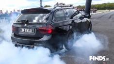 غرش موتور بی ام و 335i را تماشا کنید + برن آوت (BURNOUT) چیست؟