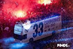آلبوم عکس جشن قهرمانی رئال مادرید در لالیگا