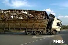 مجموعه تصادفات کامیون ها در جاده های روسیه #1