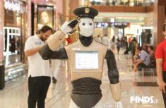 اولین روبات پلیس دنیا در دوبی مشغول به گشت زنی می شود