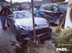 مجموعه تصادفات خودروهای لوکس مرسدس بنز #1