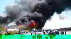 جزئیات آتش سوزی در کارخانه کرمان موتور