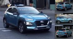 اولین تصاویر شاسی بلند هیوندای کونا (Kona) مدل 2018 منتشر شد