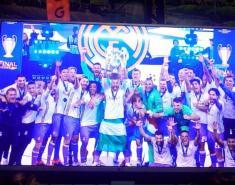 آلبوم عکس جشن قهرمانی رئال مادرید در لیگ قهرمانان اروپا