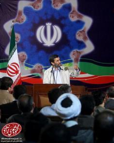 خرید ساختمان تیم حفاظت احمدی نژاد با پول کمکهای مردمی