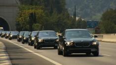 ویدیویی از رژه 200 خودروی بی ام و در مراسم عروسی شاهزاده موناکو