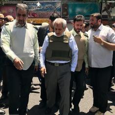 شهادت 4 نفر در حادثه تروریستی مجلس و حرم امام +18