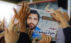 لحظه به شهادت رسیدن جواد تيموری در مجلس توسط داعشی ها
