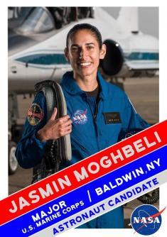 با یاسمین مقبلی، دختر فضانورد ایرانی آشنا شوید