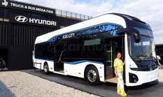 اتوبوس برقی شرکت هیوندای مدل 2018 رونمایی شد