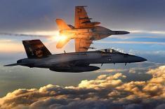 ارتش آمریکا یک جنگنده ارتش سوریه را منهدم کرد