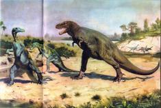 کشفیاتی تازه در مورد ظهور دایناسورها بروی کره زمین