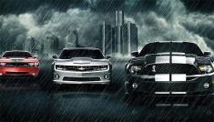 رقابت تماشایی صدای اگزوز خودروهای آمریکایی با خودروهای ژاپنی