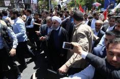 حمله به رئیس جمهور در روز قدس و واکنش اصلاح طلبان