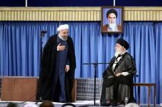 مداحی جنجالی نماز عید فطر و انتقاد شدید از سیاست های حسن روحانی