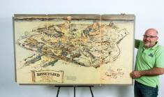 اولین نقشه از دیزنیلند به قیمت بیش از 2 میلیارد تومان فروخته شد