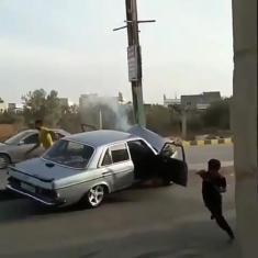 راننده حرفهای به این می گن!