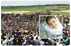 خشم مردم اردبیل در پی قتل دختر 7 ساله در پارسآباد