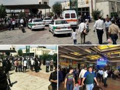 حمله با تیغه موکت بری به یک روحانی + تیراندازی در مترو شهر ری