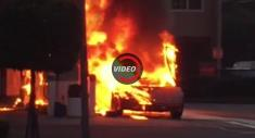آتش گرفتن یک لامبورگینی در پمپ بنزین را ببینید
