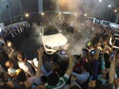 مرسدس بنز E200 مدل 2017 در مراسمی پرشور در شیراز رونمایی شد