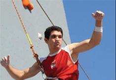 یک ایرانی برای اولین بار قهرمان مسابقات جهانی سنگنوردی شد
