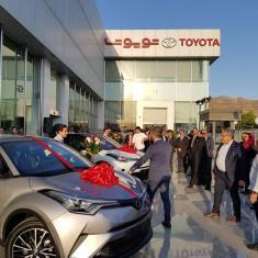 تویوتا C-HR جدید رسما وارد جاده های ایران شد