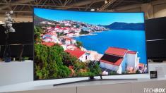 معرفی تلویزیون 70 میلیون تومانی سامسونگ با صفحه 88 اینچی خمیده