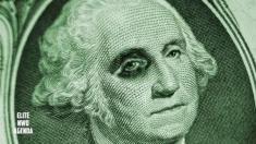 سقوط شدید قیمت دلار در بازار جهانی
