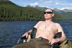 تصاویر سفر پوتین به دریاچه بایکال صید اردک ماهی توسط رئیس جمهور روسیه را ببینید