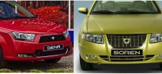 مقایسه سمند سورن توربو با ایران خودرو دنا، دنا بخریم یا سورن توربو؟