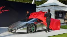 خودروی سوپراسپرت طراح ژاپنی رونمایی شد