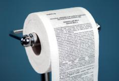تولید برق از طریق دستمالهای توالت فرنگی!