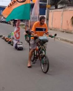 حرکت جالب این دیوانه را در برزیل تماشا کنید