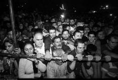پخش زنده مراسم اعدام قاتل آتنا، تمام اهالی پارس آباد به تماشای اعدام رفته بودند!