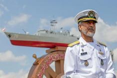 یک مقام ارشد نظامی ایران، در سفری کم سابقه به ایتالیا سفر کرد