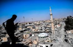 پایتخت شیطان سقوط کرد / تصاویر رقه سوریه قبل و بعد از جنگ