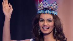 زن هندی، ملکه زیبایی سال 2017 جهان شد