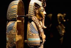 گنجینه یازدهمین فرعون مصر، برای اولین بار به نمایش در آمد