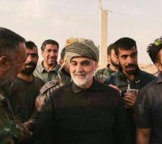 ویدیویی از سردار قاسم سلیمانی در عملیات آزادسازی البوکمال سوریه را ببینید