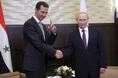 دیدار پوتین و بشار اسد در سوچی روسیه