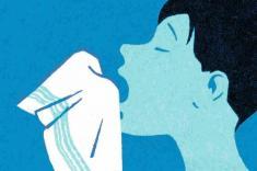هشدار پزشکان درباره جلوگیری از عطسه شدید + پاره شدن گلوی مرد 34 ساله