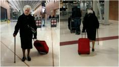 حرکت بشر دوستانه مادربزرگ 93 ساله ایتالیایی در سرتاسر جهان پیچید