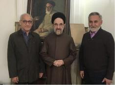 تصویری از برادران محمد خاتمی در اردکان!