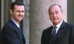 نشان لژیون دونور کشور فرانسه از بشار اسد پس گرفته می شود