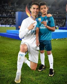 کریستیانو رونالدو جونیور، اعجوبه آینده فوتبال خواهد شد؟