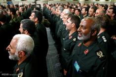 سپاه پاسداران، به سخنان اخیر حسن روحانی واکنش نشان داد